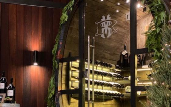 Martin Ray wine cellar